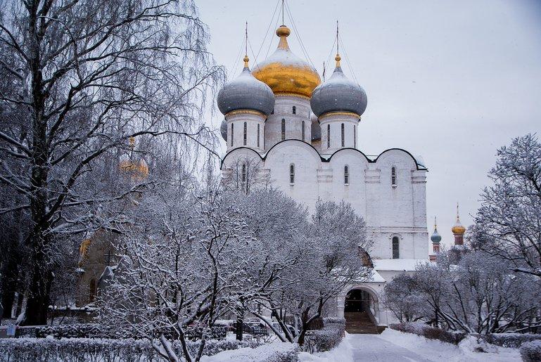 храмы и монастыри Москвы