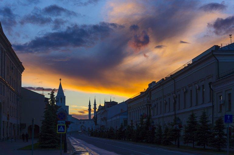 ночная жизнь в Казани