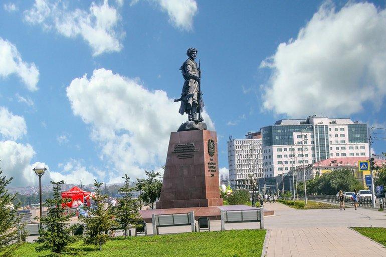 места для прогулок в Иркутске