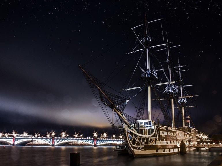 ночная жизнь в Санкт-Петербурге
