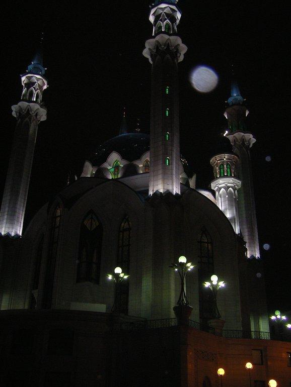 прогулки по ночной Казани