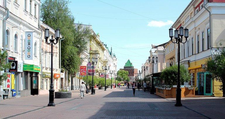 пешие прогрулки по Нижнему Новгороду