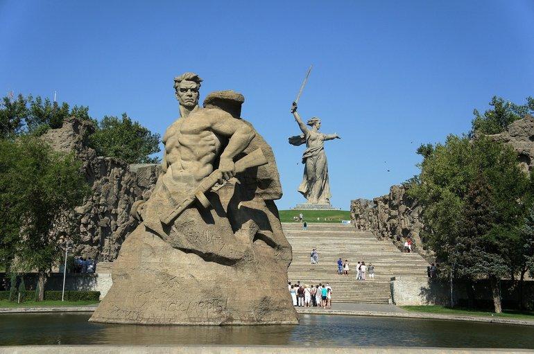 Мемориальный комплекс Мамаев Курган