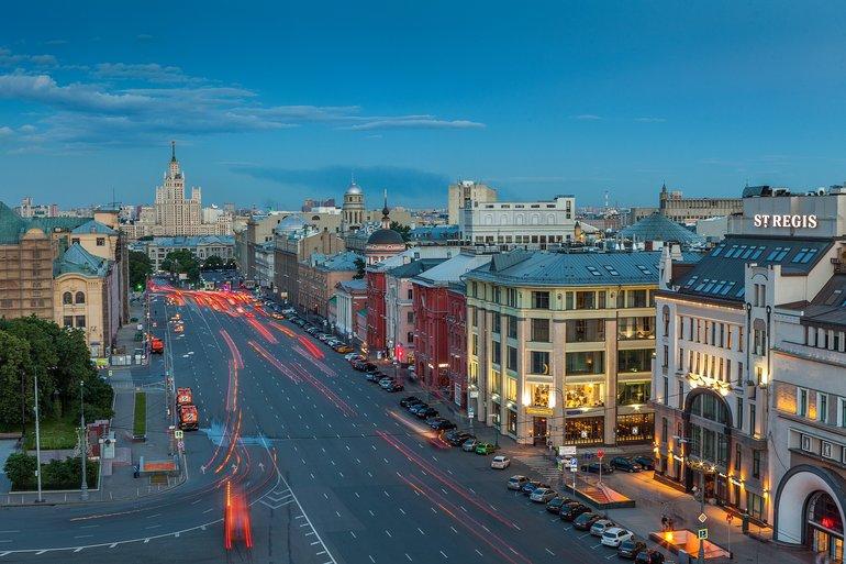 Знаменательные улицы Москвы